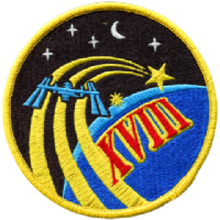 ISS Expedition 18 Embroidered Patch